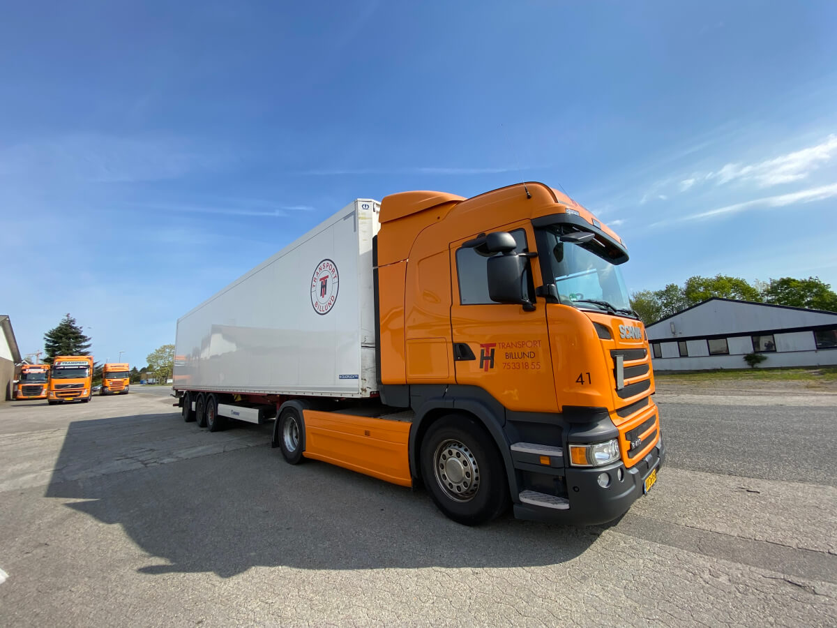 HT Transport lastbil og trailer